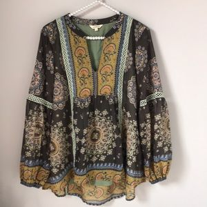 Never Been Worn! Sundance Matroyshka Top